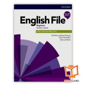 خرید کتاب English File Beginner 4th
