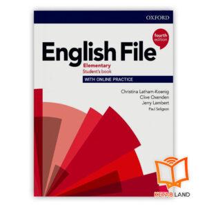 خرید کتاب English File Elementary 4th