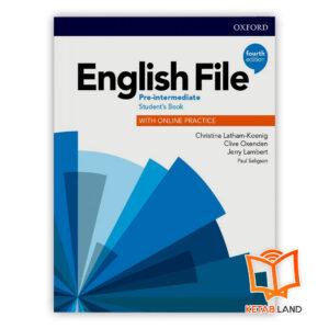 خرید کتاب English File Pre-Intermediate 4th