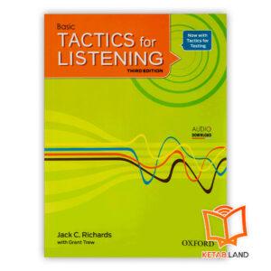 خرید کتاب Basic Tactics for Listening 3rd