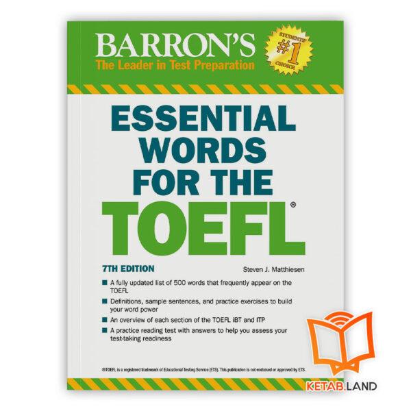 خرید کتاب Essential Words For The TOEFL 7th