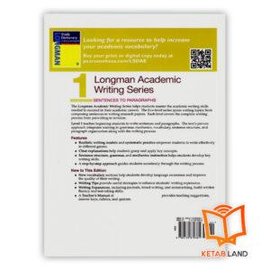 قیمت کتاب Longman Academic Writing Series 1 2nd