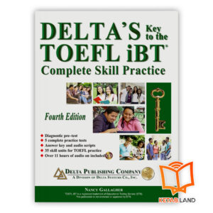 خرید کتاب Delta's Key To TOEFL IBT 4th+DVD