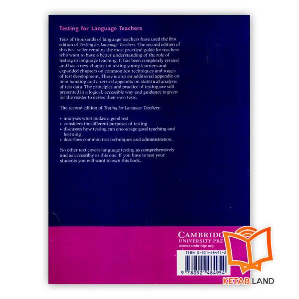 قیمت کتاب Testing for Language Teachers 2nd