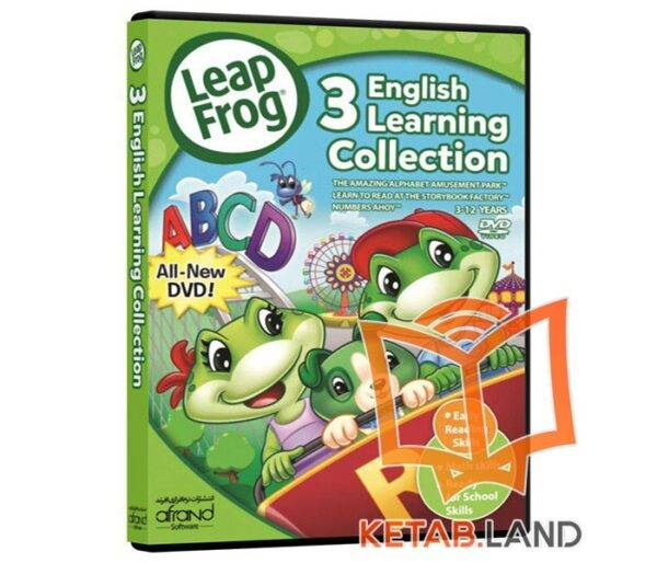 LeapFrog 3 English Learning Collection DVD| آموزشی زبان