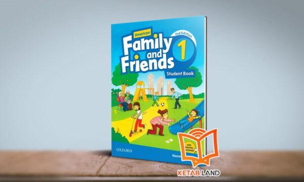 کتاب American Family and Friends 1 2nd