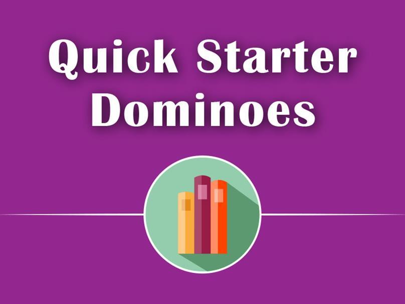 Quick Starter Dominoes - خرید کتاب داستان انگلیسی -  -مجموعه کتاب داستان Quick Starter Dominoes - کتاب لند