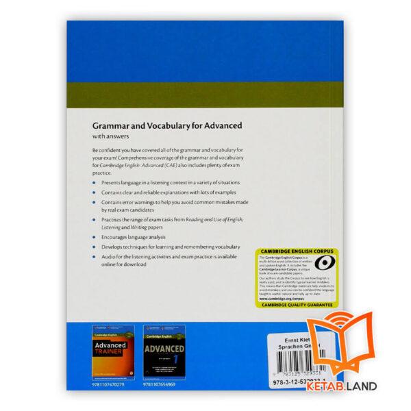 قیمت کتاب Grammar and Vocabulary for Advanced