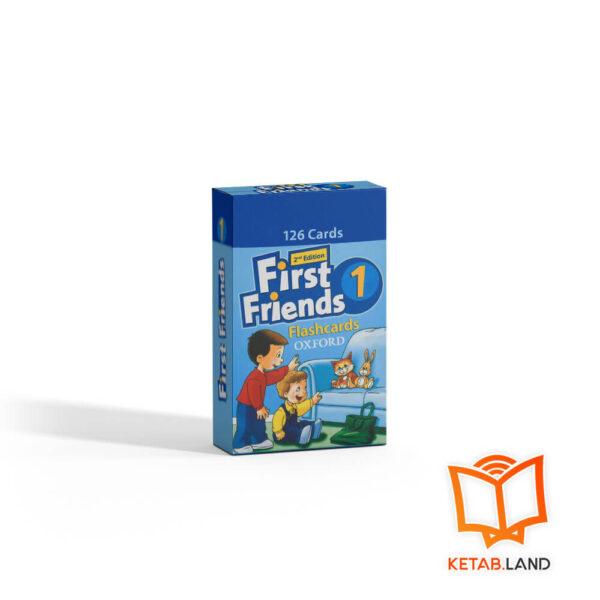 خرید فلش کارت British First Friends 1 2nd