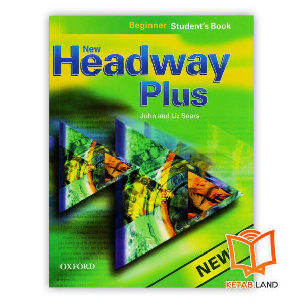 کتاب New Headway Plus Beginner