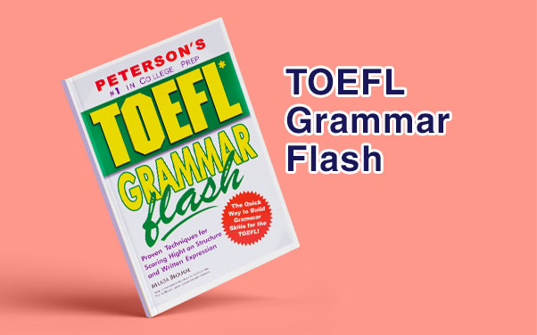 معرفی کتاب TOEFL Grammar Flash