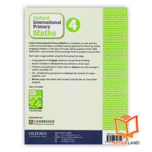 قیمت کتاب Oxford International Primary Math 4