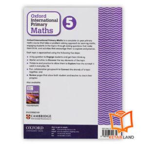 قیمت کتاب Oxford International Primary Math 5