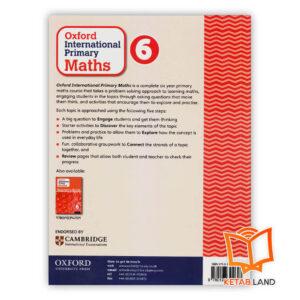 قیمت کتاب Oxford International Primary Math 6